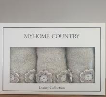"Кухонные полотенца ""KARNA"" с вышивкой MYHOME (30x50) см 1/3"