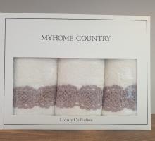 "Кухонные полотенца ""KARNA"" с вышивкой MYHOME (40x60) см 1/3"
