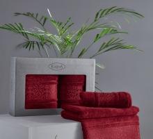 "Комплект полотенец бамбук ""KARNA"" ARMOND 50х90-70х140 1/2"